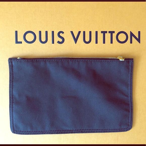 Louis Vuitton Handbags - Louis Vuitton brown cotton bag insert nwot